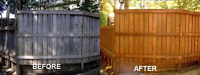 Fence or deck looking old? Time to stain!
