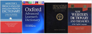 NEW Dictionary Webster, New World, Oxford - 4 of them ($5each)