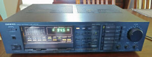 Stereo Onkyo quartz synthesized tuner amplifier $125