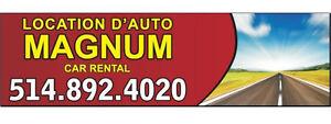 Location d'Autos Magnum Inc.
