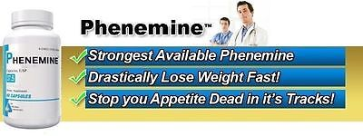 2CT Phenemine Lose Weight Loss Quick Fast Best Diet Pills That Work Fat Burner 6