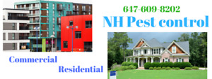 NH PEST CONTROL!!! Services start 80$ Call Today–647-609-8202