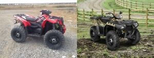 ATV PARTS SPORTSMAN & SCRAMBLER 550, 850 XP .PHONE CALLS ONLY.
