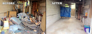 JUNK REMOVAL & Dumpster Overflow Cleanup... .FROM $55