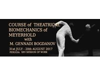 Course of Theatrical Biomechanics