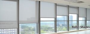 UV Protection Flame Retardation Manual+Automated Roller Blinds