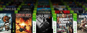 WANTED: Your Xbox 360 and Xbox Original Games!