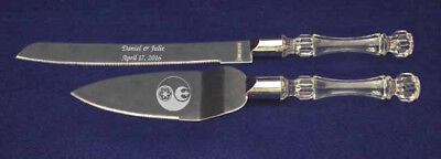 Star Wars Wedding knife cake server engraved personalized ying yin yang (Personalized Star Wars)
