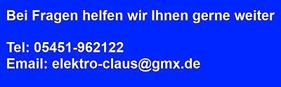 Elektrotechnik Claus
