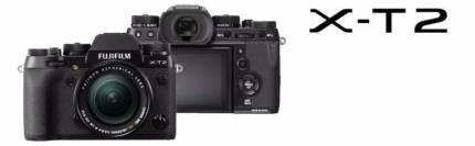 NEW Fujifilm X-T2 Black with 18-55mm Kit  1 YR WTY
