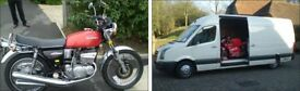 Ipswich & Suffolk based motorcycle/scooter transportation service...We Can Pickup Any Time 24/7