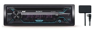 Sony CDX-3201DAB CD/MP3-Autoradio mit DAB USB iPod AUX-IN