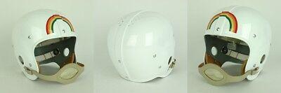HAWAII RAINBOWS 1947 Vintage Riddell RT Suspension Football Helmet