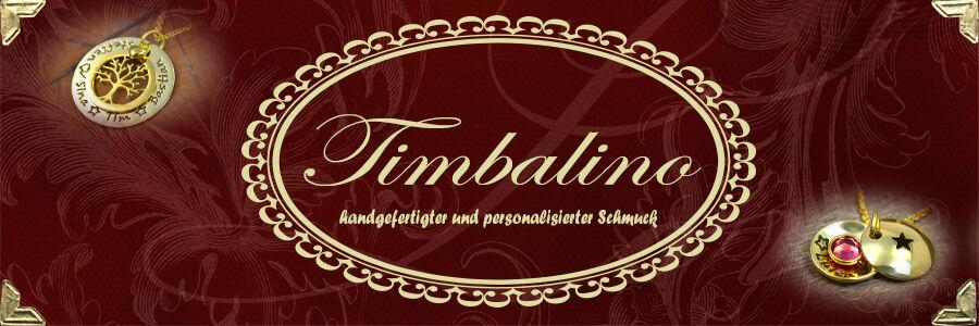 Dein Namensschmuck von Timbalino