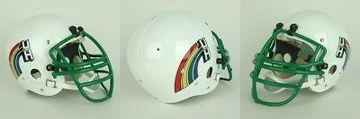 HAWAII RAINBOWS 1982-1985 Vintage Riddell TK Suspension Football Helmet
