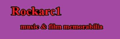 Rockarc1 music and film memorabilia