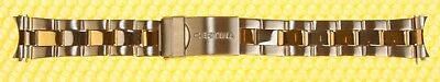 18mm CERTINA Metal Watch Band Dive-Extension Two-Tone SWISS MADE <NWoT> ()