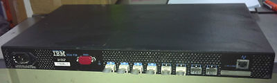 IBM 3534-F08 TotalStorage 8-port SAN switch - Incl: 8x SFF 52P6537
