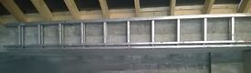 Builder's Metal Alloy Double Ladder (9 Meters)