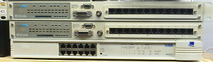 2 large reliable network hubs (12 ports x 3) switches
