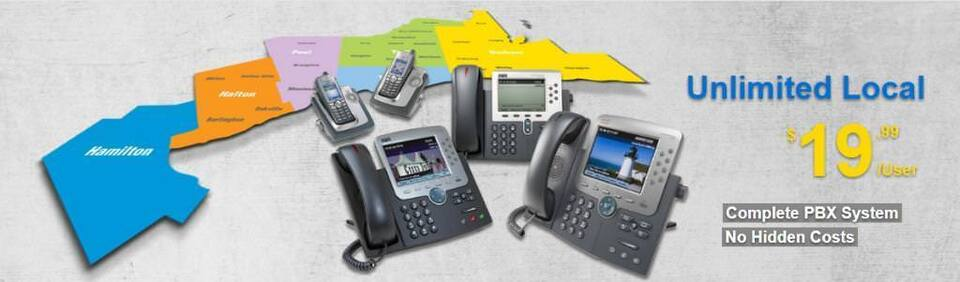 Hosted Business PBX Phone System (FREE CISCO PHONES!) - Provided by