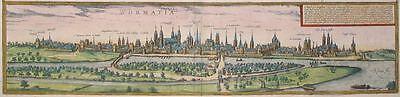 Worms - Wormatia - Braun und Hogenberg - Original von 1580