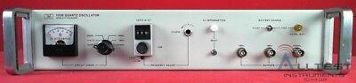 Hp Agilent 105b Quartz Oscillator Frequency Standard
