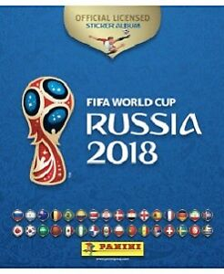 Autocollants PANINI 2018 FIFA World Cup™ official stickers