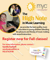 Music for Young Children classes for ages 3.5-4