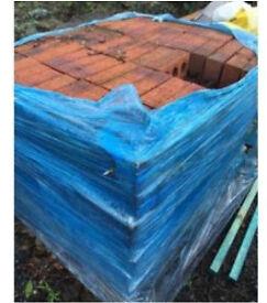 Surplus bricks around 450 pallet of bricks