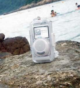 IPHONE, IPOD, MP3 Waterproof Case with Speaker **NEW IN BOX! London Ontario image 2