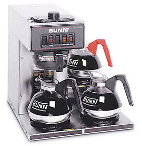 Bunn Pourover Coffee Brewer With 3 Warmers -vp17-3-0003