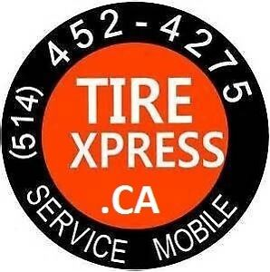 TIREXPRESS.CA INSTALL/BALANCE/PNEUS LAVAL-MONTREAL-RIVE NORD