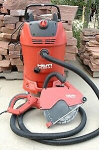 Concrete Saw (Electric), with Vacuum - L2 Rental
