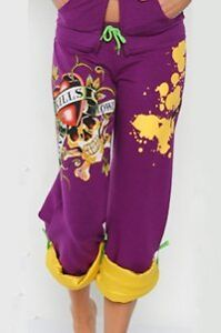Ed Hardy Stretch Terry Roll-up Sweat Pants West Island Greater Montréal image 3