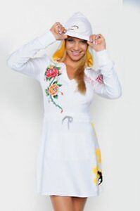 Ed Hardy Stretch Terry Hoodie Dress West Island Greater Montréal image 1