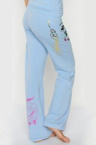Ed Hardy Stretch Terry Roll-up Sweat Pants