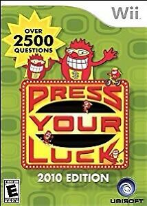 Wanted - Press Your Luck for Nintendo Wii