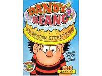 Dandy Beano Celebration Panini Sticker Album