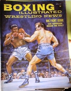BOXING MAGAZINE. RING MAGS ETC.1950'S TO 80'S Belleville Belleville Area image 9