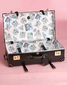 VERY PRETTY AGENT PROVOCATEUR BY GLOBE TROTTER LUGGAGE CARRY ON