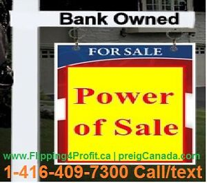 Let us STOP Power of Sale in Ontario, Help available !