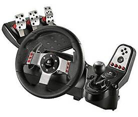 Logitech G27 Steering Wheel USB