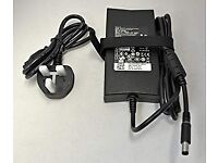 Genuine DELL 130W watt Laptop AC Adapter Battery Charger with UK mains lead