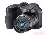 Fujifilm FinePix S1000fd Digital Camera - Black (10.0MP, 12x Optical Zoom) 2.7 inch LCD