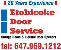 repairs garage doors openers  installations