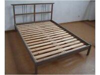 IKEA RYKENE DOUBLE BED FRAME