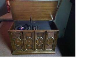 Ancien meuble stéréo
