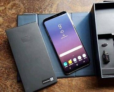 Samsung galaxy s8 plus g955f midnight black boxed unlocked mint condition