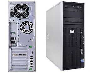 HP Z400 MT Xeon Quad Core 3.06GHz 8GB 250GB DVD/RW Windows 10